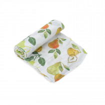 Cotton Muslin Swaddle Single - Peary Nice