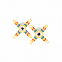 VertiPlay STEM Marble Run - Pin-wheel Tracks