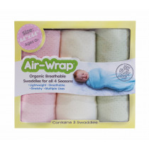 Old Fashioned Air Wrap - Girl Pastels Color ( Pastel Pink, Cream, Pastel Green)