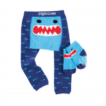 Comfort Crawler Babies Legging and Sock set - Sherman the Shark