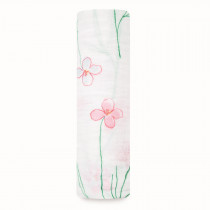 Classic Single Swaddle - Forest Fantasy Flowers
