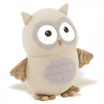 Breathables Soft Toy Owl − Neutral, Gray, Taupe