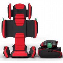 hifold - the Fit and Fold Booster - Racing Red