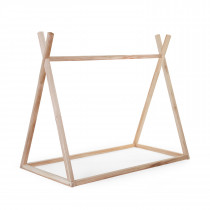 Tipi Cot Bed Frame 70x140cm - Natural