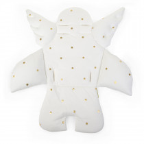 Evolu 2 & Lambda - Angel Universal Seat Cushion - Jersey Gold Dots