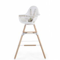 Evolu One 80° Chair 2-in-1 + Bumper  - Natural White