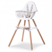 Evolu 2 Chair 2-in-1 + Bumper - Natural - White