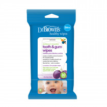 Tooth & Gum Wipes, 30-Pack