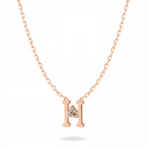 Baby Initial Pendant  Letter H, ه