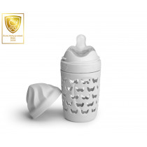 Eco Baby Bottle 220ml/ 7oz Mist Grey