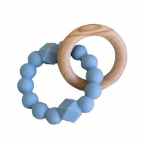 Moon Teether - Soft Blue