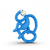 Mini Monkey Teether - Blue
