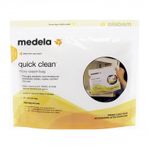 QUICK CLEAN MICROWAVE BAGS (PK/5)