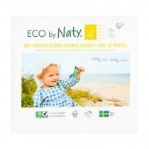 Naty By Nature Nappies  - Size 4 -  7-18Kg - (26pcs)