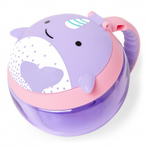 Zoo Snack Cup - Narwhal