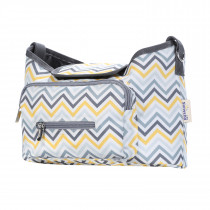 Baby Stroller Organizer Bag - Yellow Wave