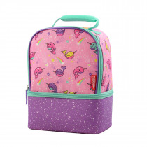 Dual Lunch Kit With Ldpe Liner - Narwhals In Space