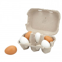 Wooden Eggs (6pcs)