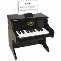 Piano With Scores − Black