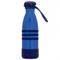 Aqua Bottle- Ocean Blue With Strap