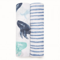 Classic 2 Pack Swaddles - Seafaring