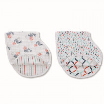 Classic 2 Pack Burpy Bibs - Tea Fish Pond