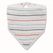 Classic Bandana Bib - Tea Fish Pond