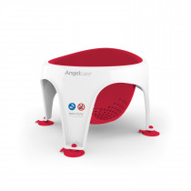 Soft Touch Bath Seat-Coral Red