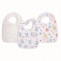 Classic 3 Pack Snap Bibs Year of the Mouse
