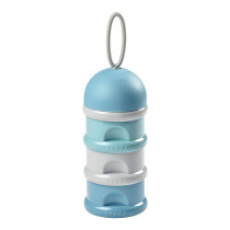 Stacked Formula Milk Container 270ml -Light Blue