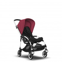 Bee5 Aluminum Base Black- Ruby Red