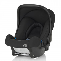 Britax Römer-Baby Safe-Baby Car Seat, From birth to 13 KG, Group 0+ - Cosmos Black