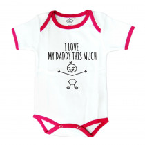 Body Suit: I Heart My Daddy This Much