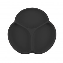 Silicone Suction Plate - Black