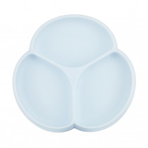 Silicone Suction Plate - Ice Blue