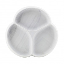 Silicone Suction Plate - Marble