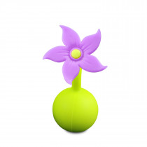 Silicone Breast Pump Flower - Purple