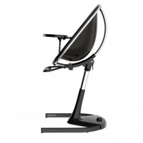 Moon Highchair with Footrest-Black