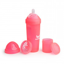 Baby Bottle 340ml/11.5oz Coral