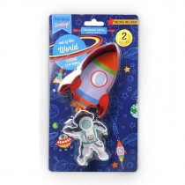 Set of 2 Rocket Cookie Cutter Set