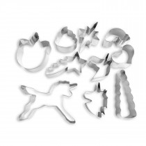 Rainbows & Unicorns 10pc Cookie Cutter Set