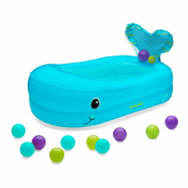 WHALE BUBBLE BALL INFLATABLE BATH TUB