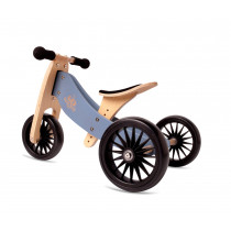 2-in-1 Tiny Tot PLUS Tricycle & Balance Bike - Slate Blue