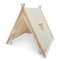 Tent - Natural Organic Cotton & Sustainable Pine Wood