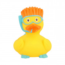 Bath Toy-Snorkeler Duck -Yellow