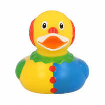 Bath Toy-Clown Duck -Blue/Yellow