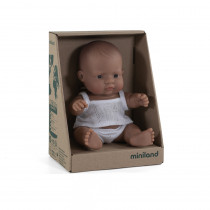 Baby Doll Hispanic Boy 21cm