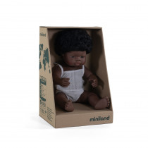 Baby Doll African Girl 38cm