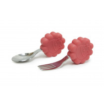 Palm Grasp Spoon & Fork Set - Marcus