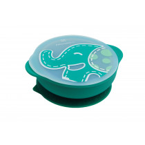 Suction Bowl with Lid - Ollie
